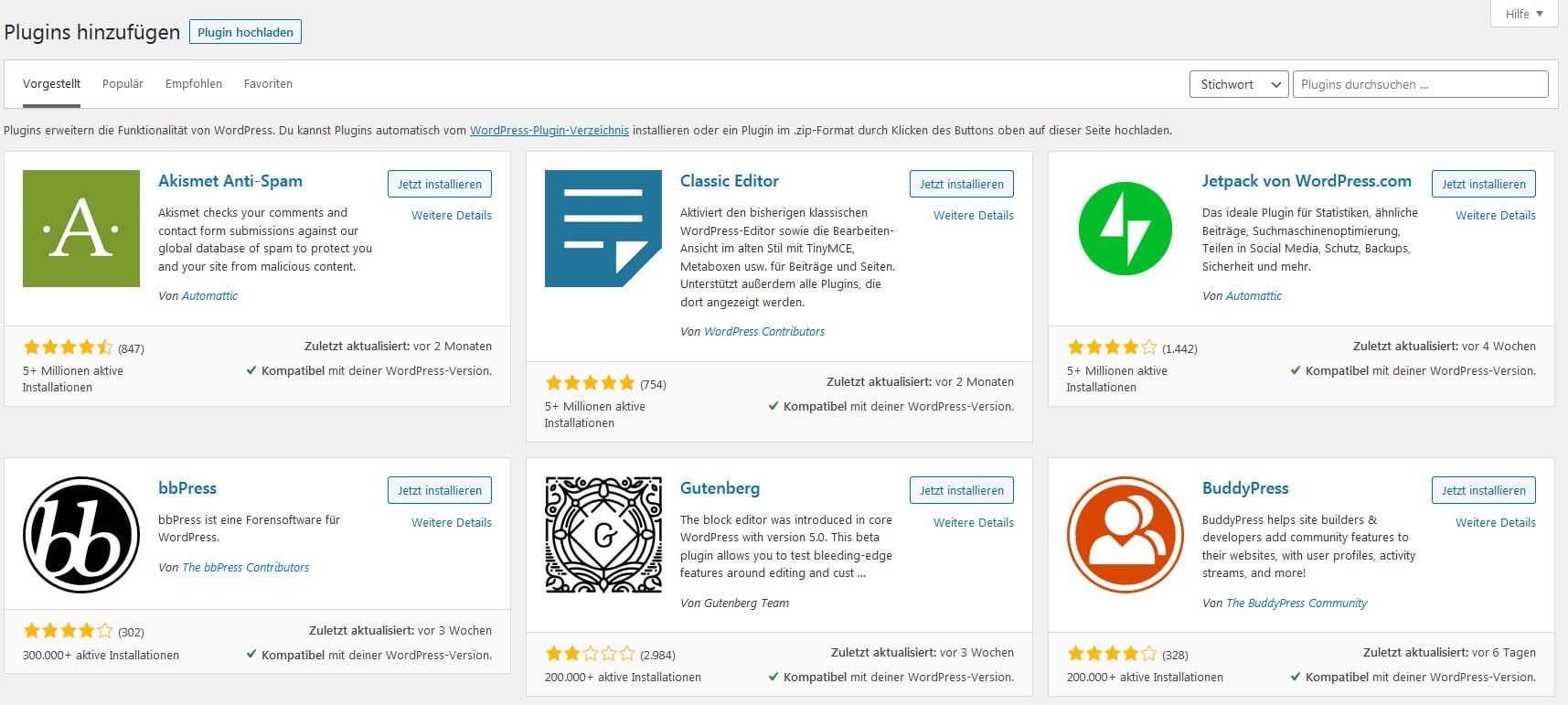 Wordpress Plugins: Der Leitfaden für alle Einsteiger und Anfänger, inkl. Plugin Empfehlungen 9