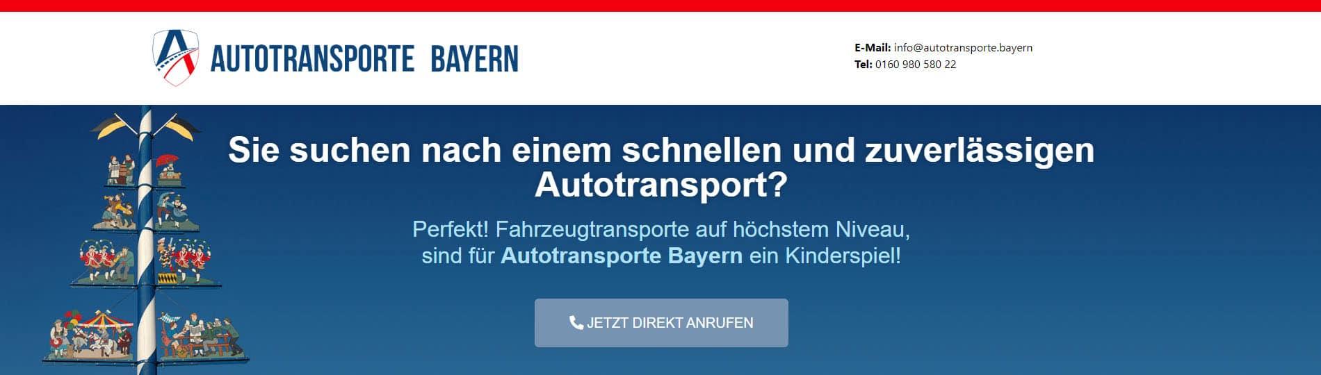 Case Study - Autotransporte Bayern 2
