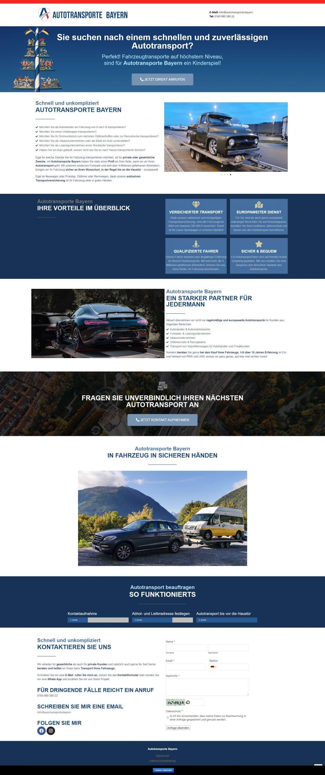 Case Study - Autotransporte Bayern 4