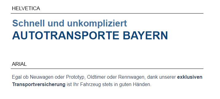 Case Study - Autotransporte Bayern 3