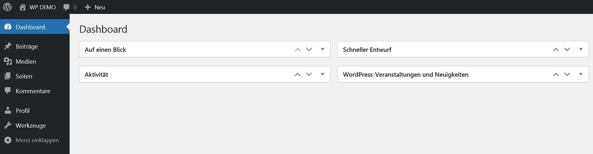 WordPress Redakteur